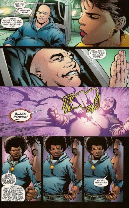 brown bomber, dc comics, Dwayne McDuffie, theblerdgurl, black lightning
