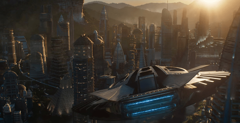 Wakanda City_theblerdgurl_Blackpanther