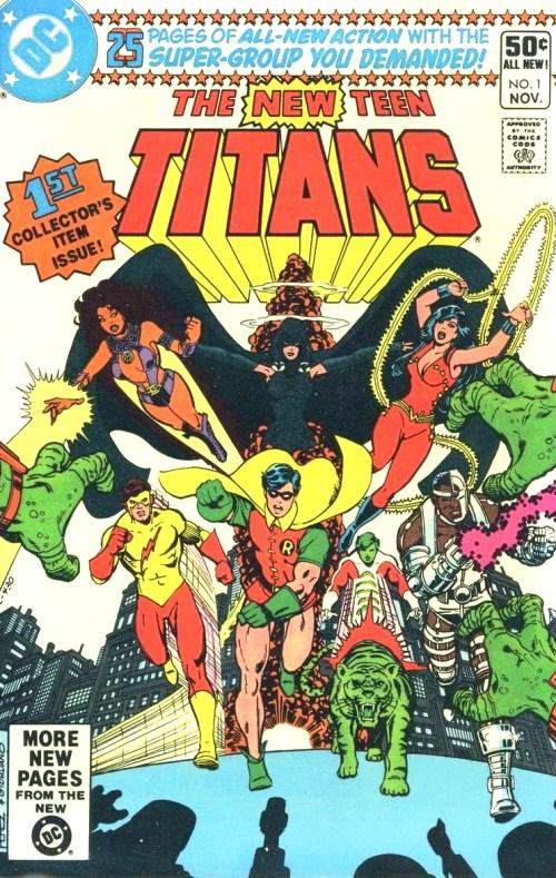 teen titans comic, tehblerdgurl