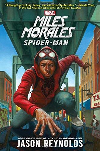 spider-man, miles, jason reynolds, marvel, theblerdgurl, world book day