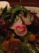 There's a heart in my salad!