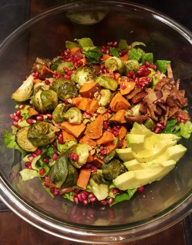 Autumn Harvest Salad (recipe below)