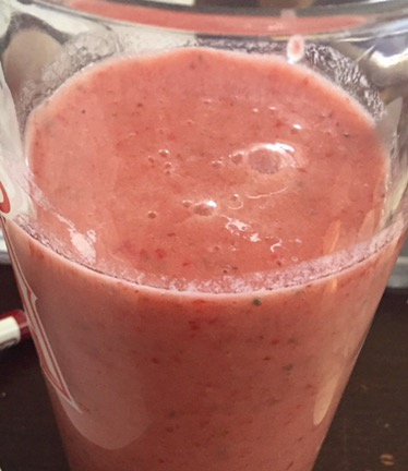 Strawberry Detox Smoothie