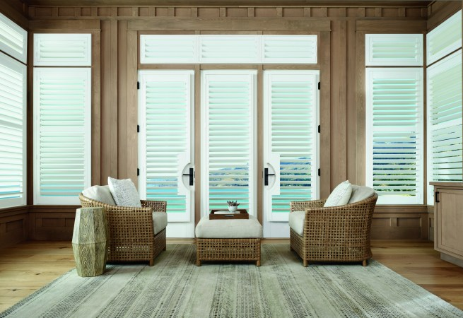 White French Door Shutters HD