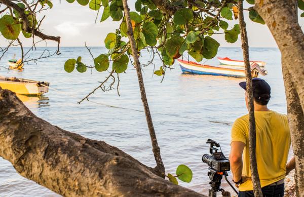 Filming Success Beach