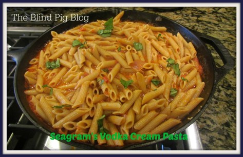 seagrams vodka pasta 4