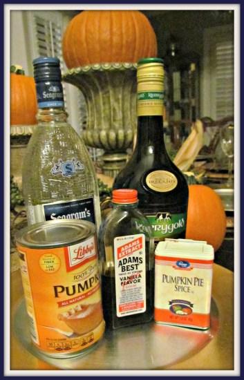 pumpkin spice martini 1
