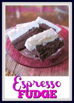 Espresso Fudge