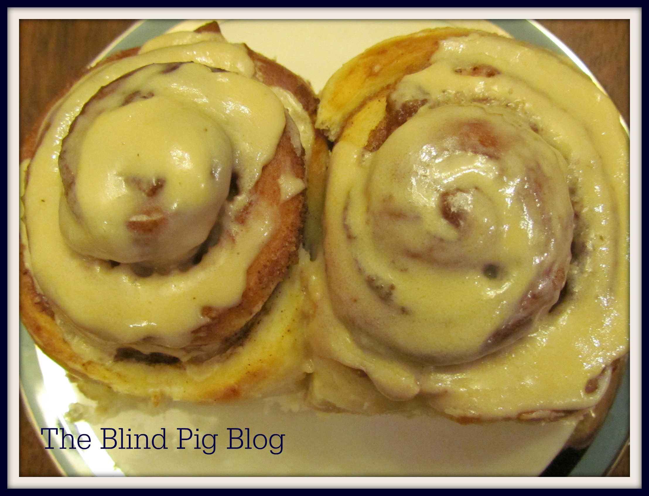 Cinnamon Rolls with Kerrygold Frosting