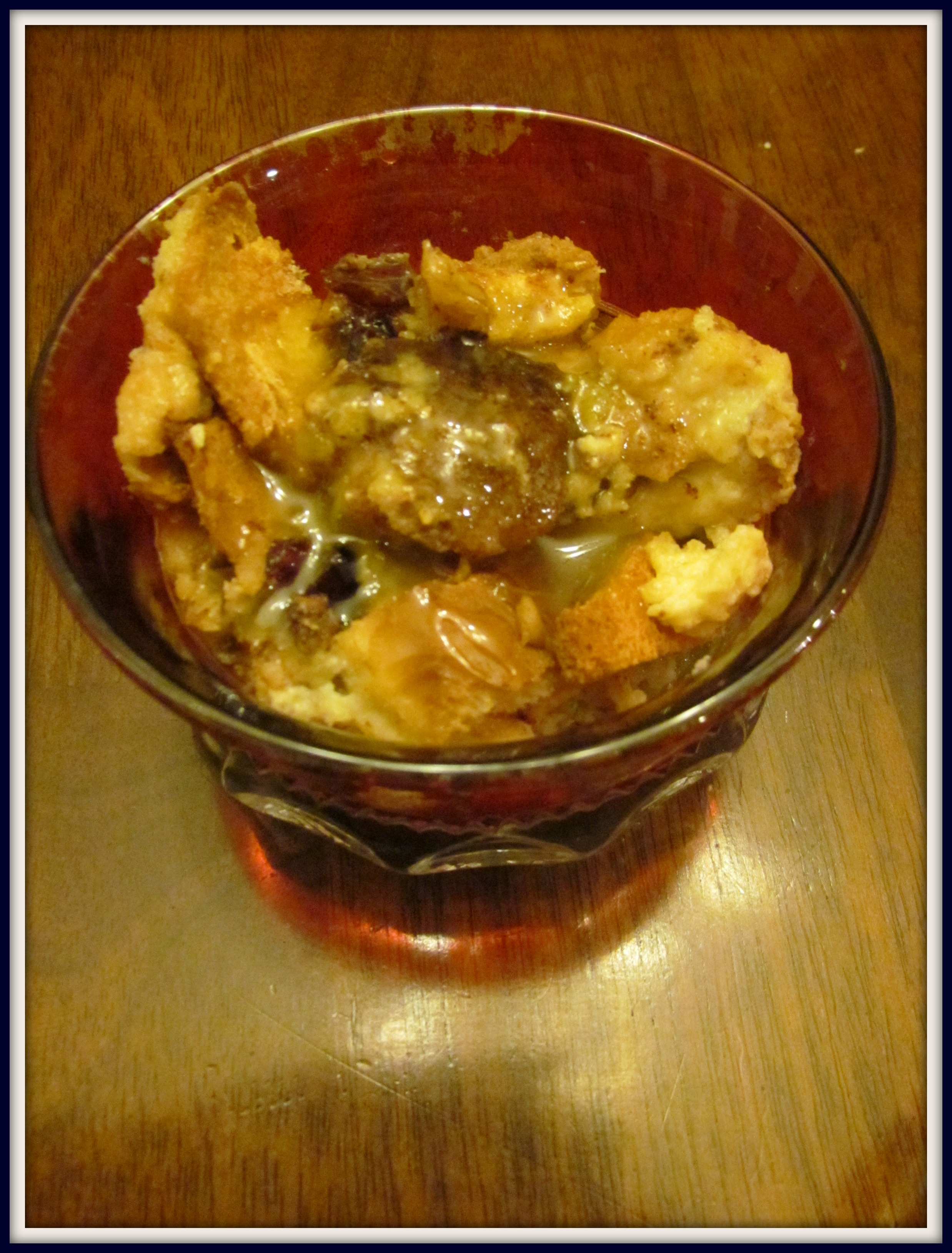 Whiskey Bread Pudding