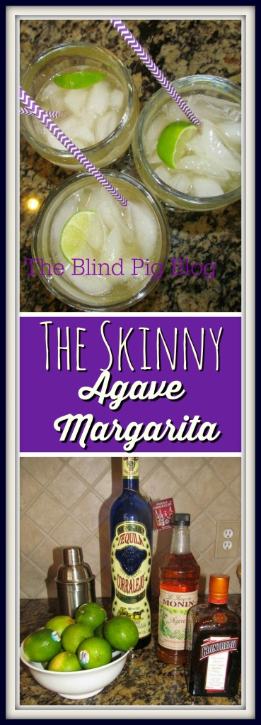 the skinny agave margarita