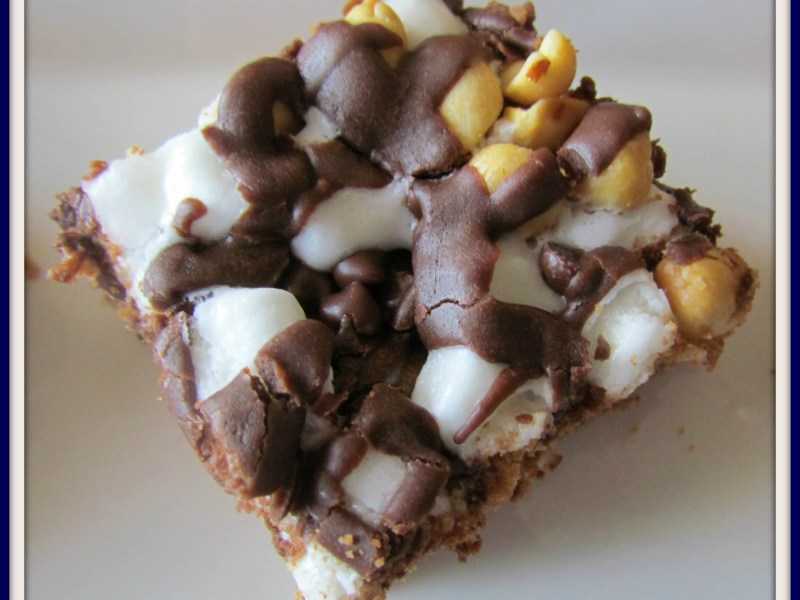 Twisted Mississippi Mud Brownies
