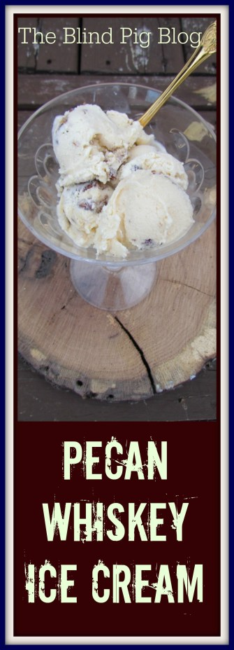 pecan whiskey ice cream