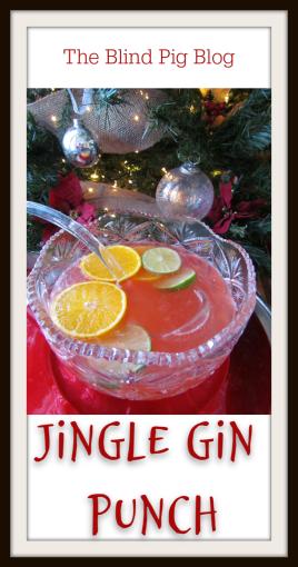 Jingle Gin Punch