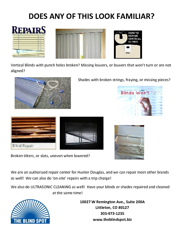 thumbnail of Repair flyer #2