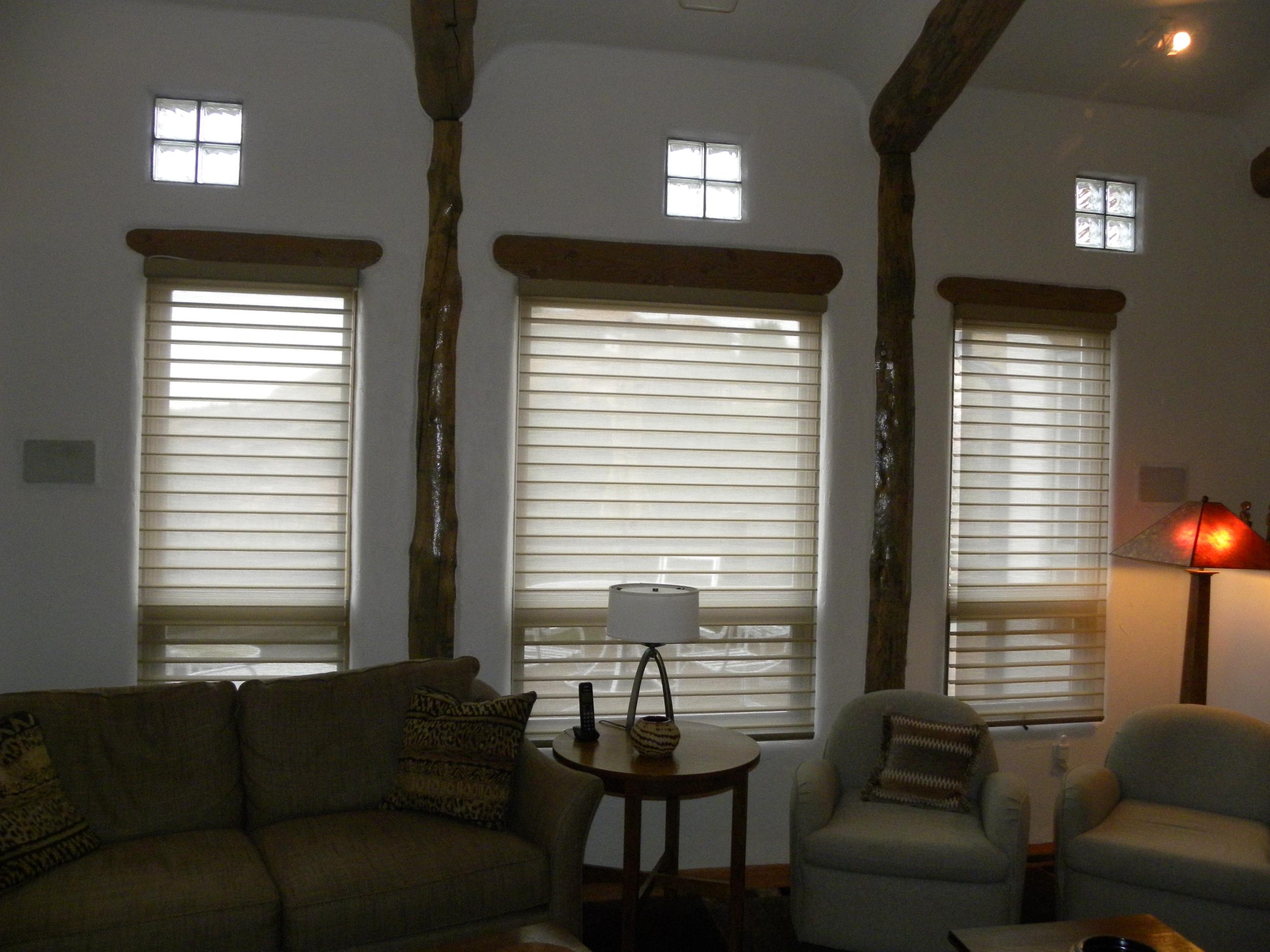 Duette Powerrise And Silhouette Powerrise Custom Window