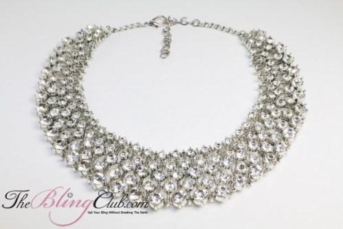 Kate Middelton Bling statement necklace
