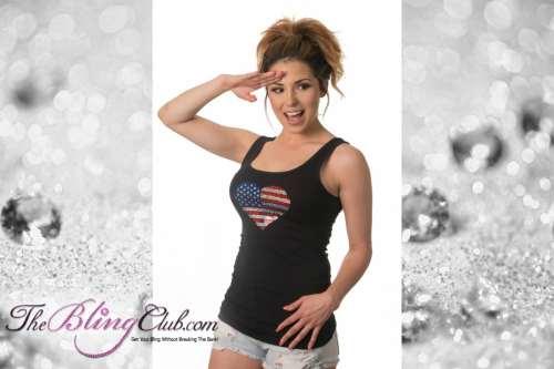 theblingclub.com all american heart flag bling spangle swarovski tank top