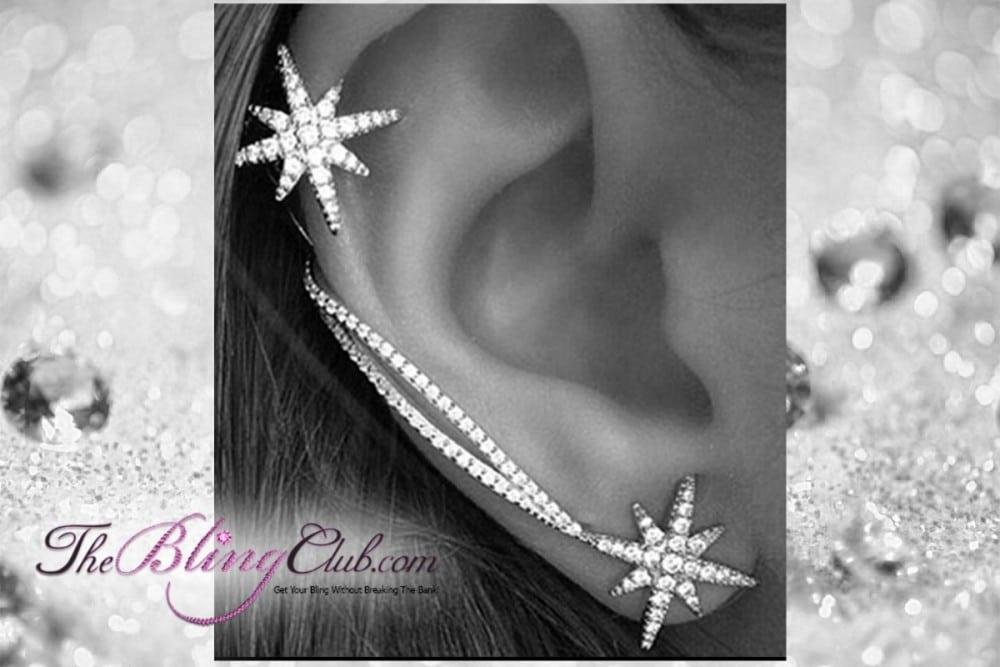 theblingclub.com starbust luxury ear cuff