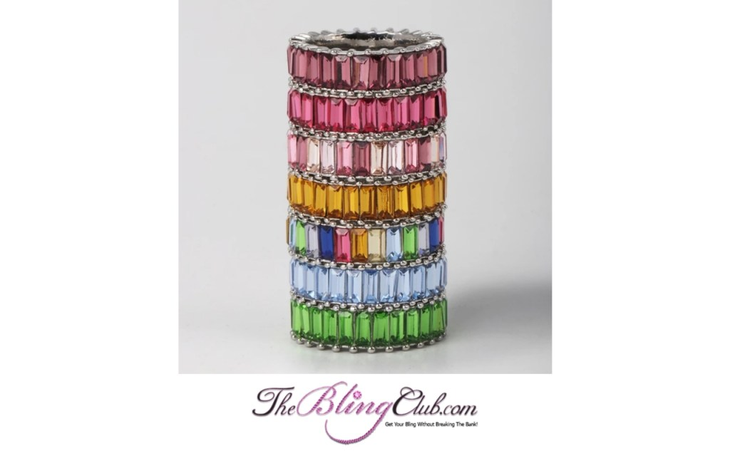 the bling club bauble bar sterling silver stackable gemstone rings
