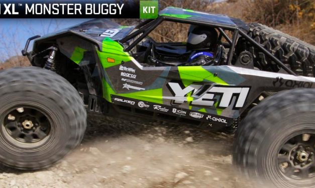 Axial Racing – Yeti XL 1/8th scale electric 4wd kit