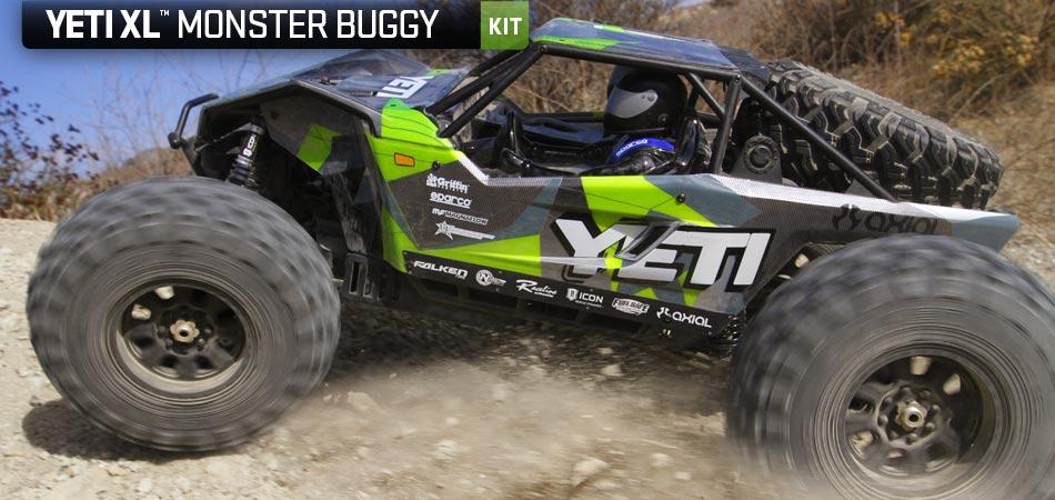 Axial Racing – Yeti XL 1/8th scale electric 4wd kit