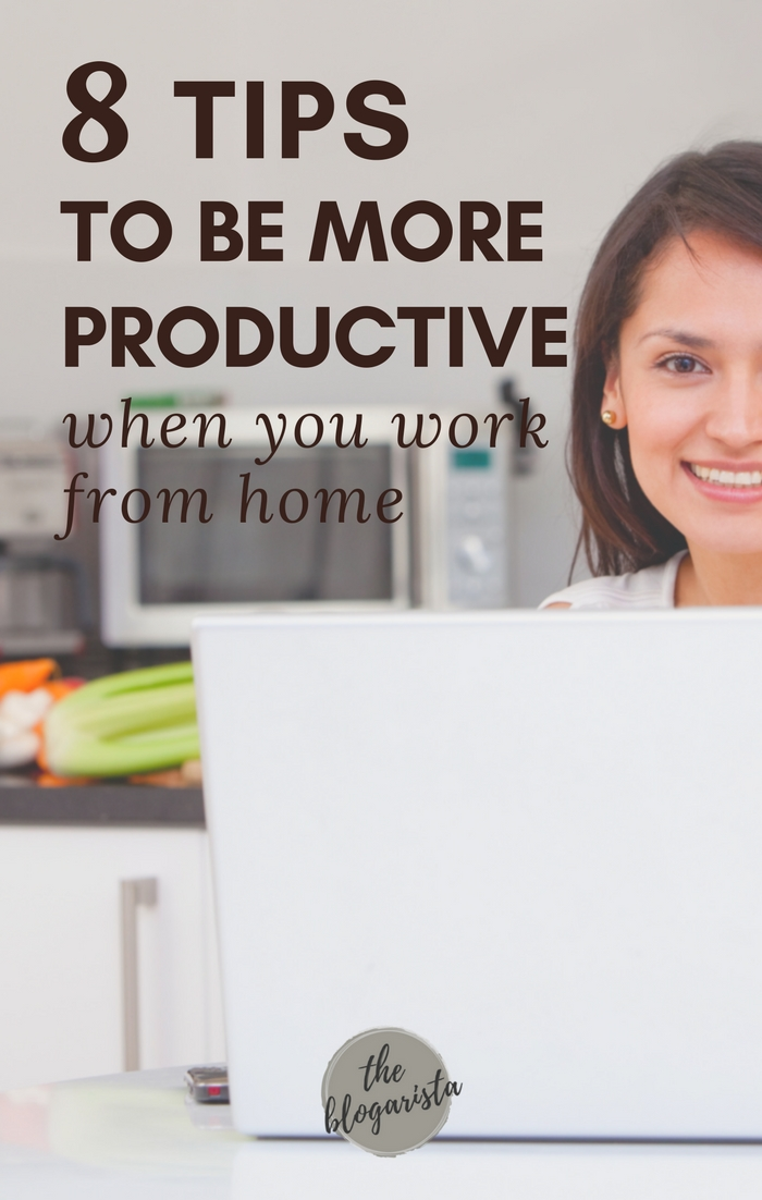 Struggling with being productive while working from home? Yeah, I've been there! Here are some of my best tips for staying productive and still enjoy the many benefits of working from home.