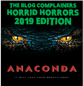 Horrid Horrors 2019 – Week 3: Anaconda