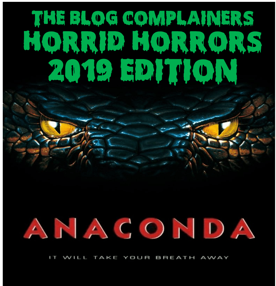 Horrid Horrors 2019 – Week 3: Anaconda