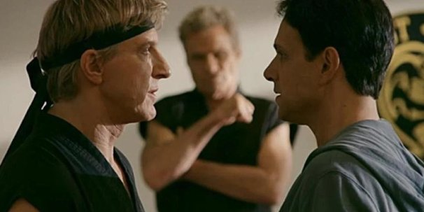 Johnny & Danny in the Dojo