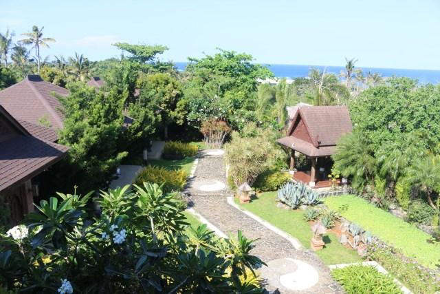 amazing view at Tirta Spa Boracay