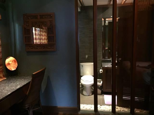 de luxe toilet