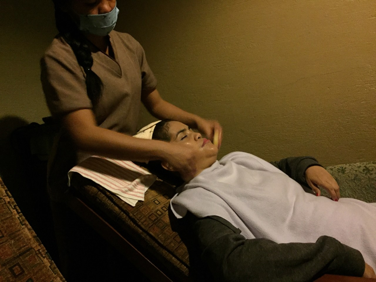 facial at Bellfrei Spa