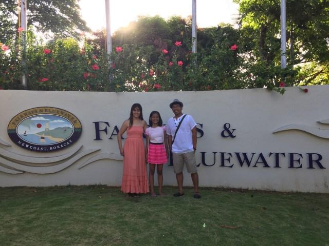 Family pic fairways