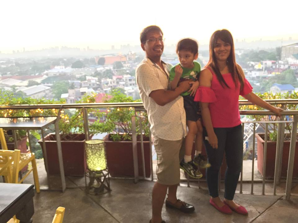 overlooking in the veranda at Yellow Lantern Antipolo