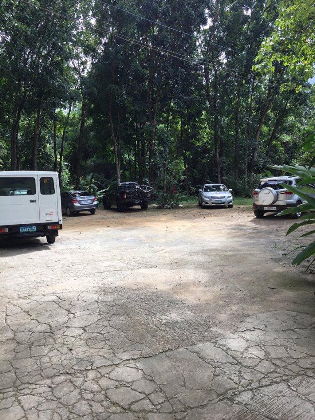 parking area at Park Rest & Dine Restaurant