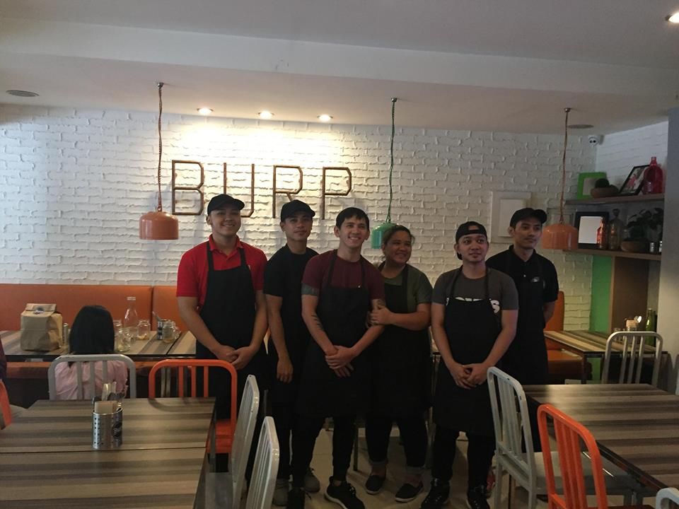 burp staff at Burp Restaurant