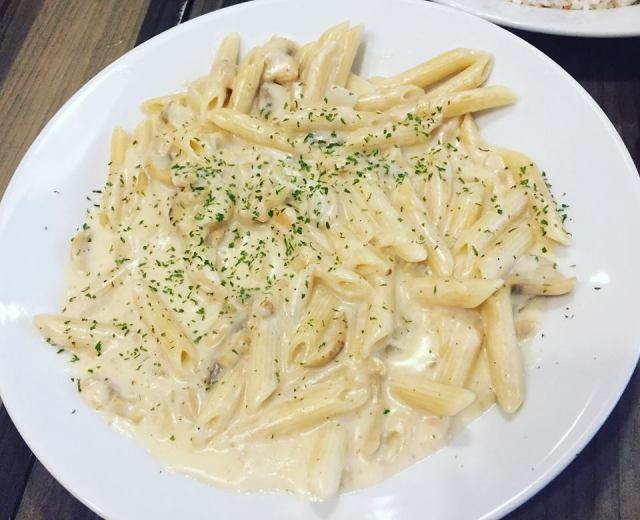 Cremy Mushroom Pasta