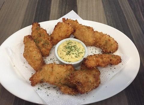 Fried-Chicken-Strips. at Burp Restaurant