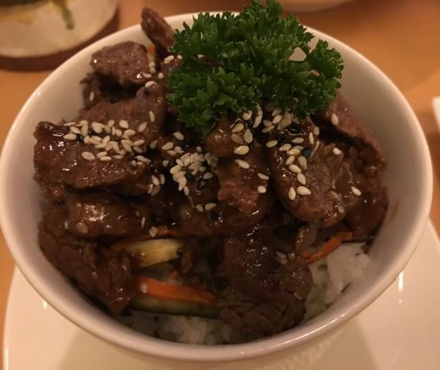 Beef Teriyaki at Lemoni Cafe Boracay