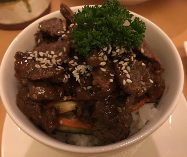 Beef Teriyaki at Lemoni Cafe Boracay