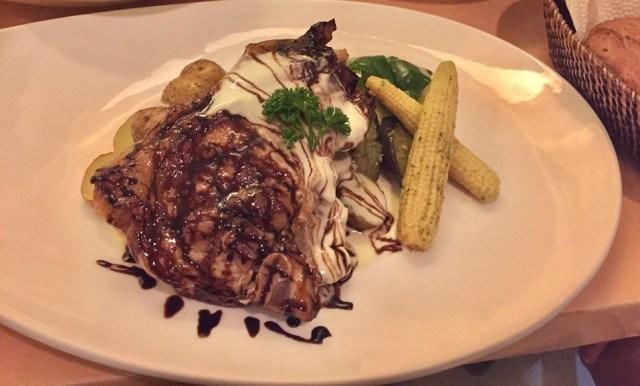 Grilled Pork Chops at Lemoni Cafe Boracay