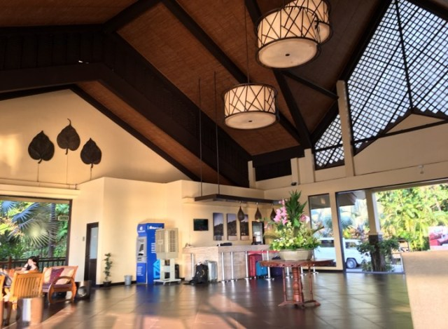 lobby at Alta Vista de Boracay