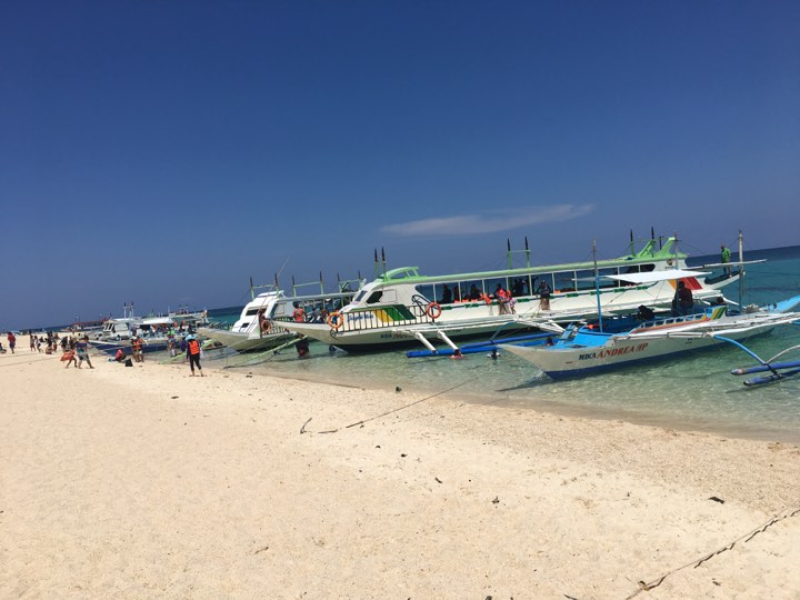 Puka Beach was transformed to Puka Port in our Boracay 2019 vacation