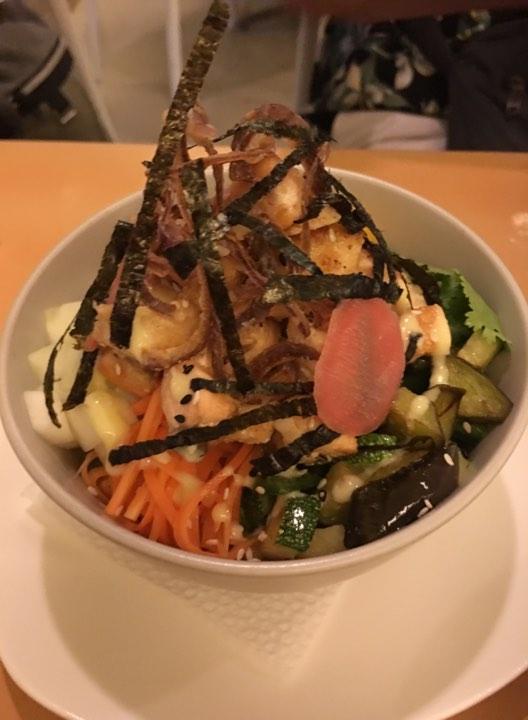 Salmon Poke Bowl. at Lemoni Cafe Boracay