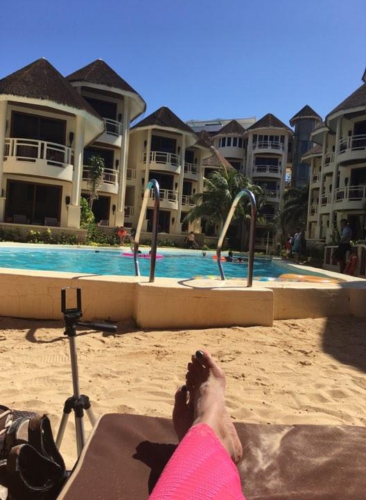 relaxing at Ambassador in Paradise Boracay