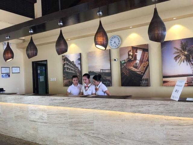 the front desk staff at Alta Vista de Boracay