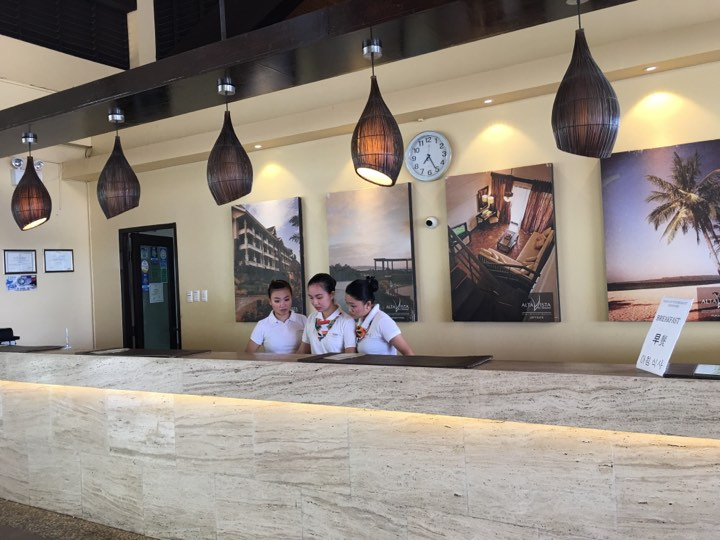 the front desk staff at Alta Vista de Boracay