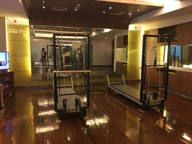 The Fitness Center at the Manila Hotel