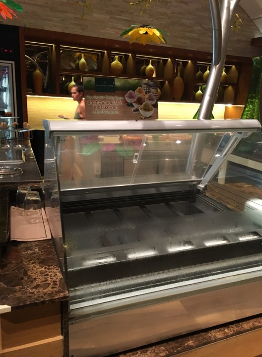 no ice cream at Cafe Ilang-Ilang at the Manila Hotel
